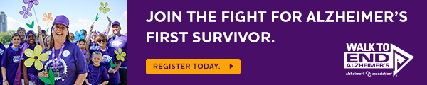 Alzheimer's Association Walk to End Alzheimer's on Saturday, September 16