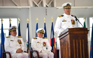 Hammond Assumes Command of NAS Patuxent River