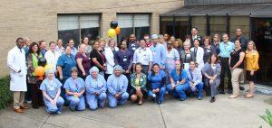 Associates Bid Farewell to Hospital Atrium with Construction Kick-Off Party