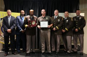 M/Cpl. Shawn Gregory Named Correctional Officer of the Year By the Maryland Sheriffs' Association