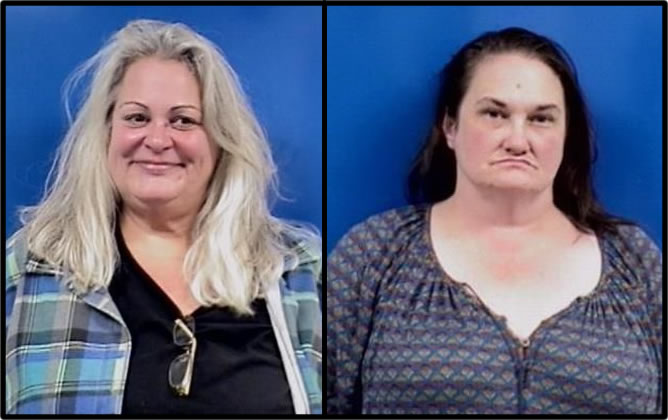 Two Women Arrested for Ripping Off Bars and Restaurants in Calvert County