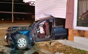 VIDEO: Car Crashes into Brass Rail Sports Bar in Great Mills