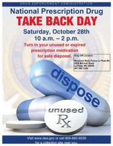 Let Troopers Dispose of Unwanted Prescription Drugs on National Drug Take Back Day