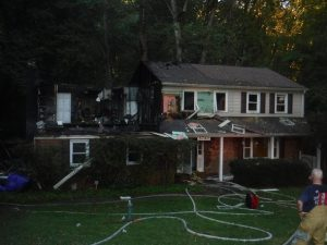 House Fire in La Plata Ruled Accidental