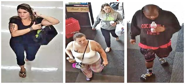 St. Mary's County Sheriff's Office Seeking Identity of Theft Suspects