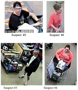 St, Mary's County: Burglary/Theft Suspects Need Identified