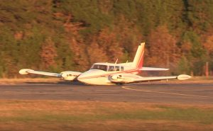 Exclusive Video: Pilot Uninjured in Emergency Landing at St. Mary's County Airport