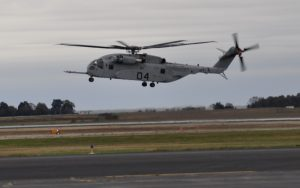 NAVAIR Hosts First Orientation Flight in a CH-53K King Stallion