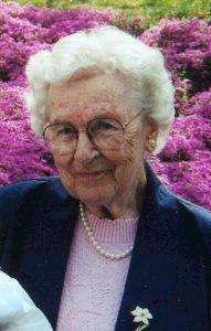 Frances Margaret Sherbert, 101