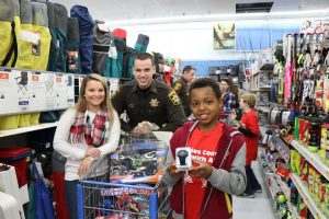 Charles County Shop with a Cop Celebrate 10th Anniversary