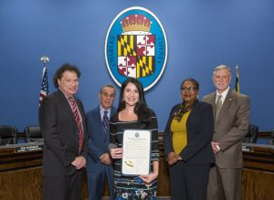 Commissioners Recognize Chesapeake Bay Foundation's 50 Years of Service