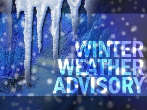 Winter Weather Advisory is in Effect Tonight, for St. Mary's and Calvert Counties