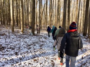 First Day Hike at Seneca Creek State Park by Teresa Rubio