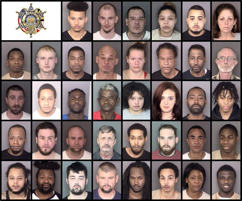 St. Mary's County Sheriff's Office Arrests – 1/30/2018