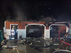 mechanicsville garage fire