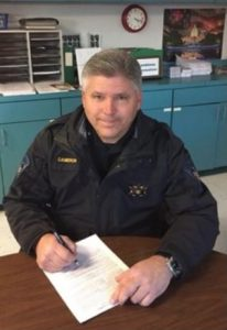 St. Mary's County Sheriff Tim Cameron Files Re-Election