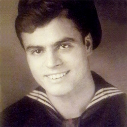 "James Anthony ""Jim"" Tiburzi, (Ret.) USN, 93"
