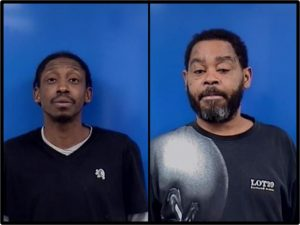 Calvert County Sheriff's Office Arrest Two Men for Dash In Robbery