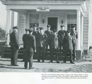 First academy class, 1963