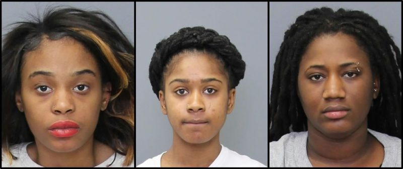 Three DC Women Arrested for Shoplifting Over $2,500 Worth of Items from St. Charles Towne Center Mall