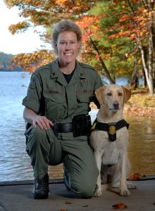 Cpl. Nyland and K-9