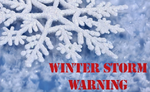 Winter Storm Warning Remains in Effect Until 8 p.m. for St. Mary's County