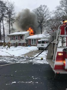 Waldorf Family Displaced After House Fire