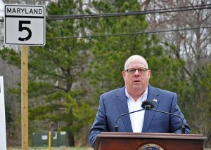 Governor Larry Hogan Announces Start of Point Lookout Road at Abell Street/Moakley Street Improvement Project