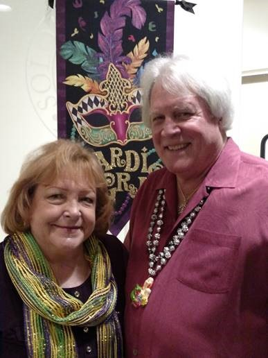 Barbara & Pat O'Neal, event organizers