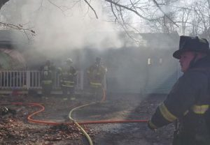Family Displaced and Three Children Injured in Lusby House Fire