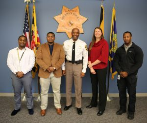 Charles County Sheriff's Office Welcomes Lateral Police Officers and Recruit Officer