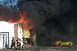 Fire that Destroyed Garage at Upholstery Shop in Hollywood Ruled Accidental