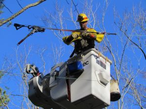 SMECO Restores Power following Wind Storm