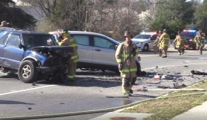 Weekend Crash in Lexington Park Sends Two to Trauma Center