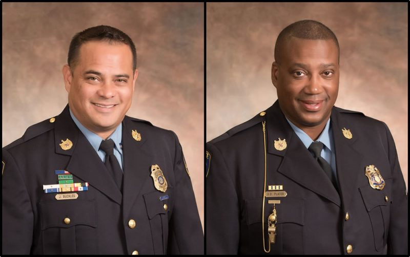 La Plata Officers of the Quarter Anounced