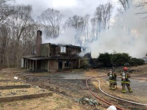 Family Home in Mechanicsville Destroyed by Fire