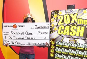 """""""Scratch-off Queen"""" Wins $50,000 Top Prize on Scratch-Off"""