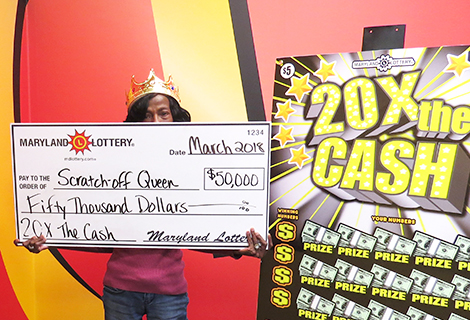 """Scratch-off Queen"""" Wins $50,000 Top Prize on Scratch-Off"""
