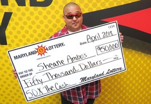 St. Mary's County Cook Claims $50,000 Scratch-Off Prize