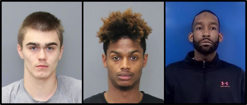 Three Men Charged with Home Invasion in Lusby