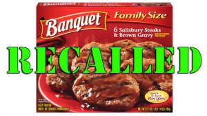 Banquet Salisbury Steak Meals Recalled for Possible Bone Fragments
