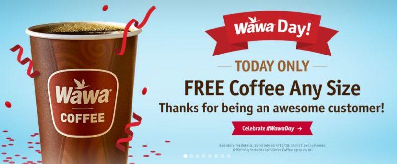 Wawa Giving Away Free Coffee for 'Wawa Day'