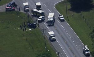 Three Dead in Motor Vehicle Crash in Newburg