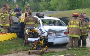 Motor Vehicle Accident Injures One in Great Mills