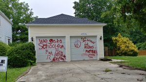 Vandalism and Property Destruction Hits the California and Great Mills Area