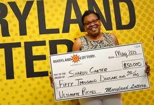 St. Mary's County Woman Wins $50,000 From Scratch Off Purchased at Captain Sam's
