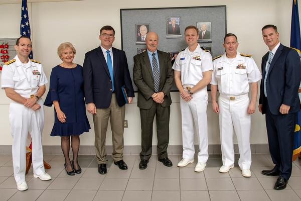 NAVAIR and NAWCAD leadership honor the recipients of this year's DON Test and Evaluation awards.