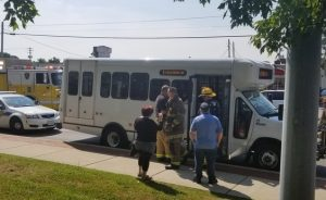 Five Injuries Reported in Hit and Run on Great Mills Road with STS Bus
