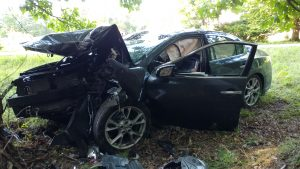 Driver Seriously Injured in Single Vehicle Crash in Leonardtown