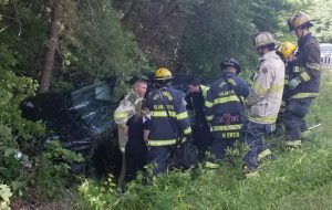 Single Vehicle Motor Vehicle Accident Injures One in California